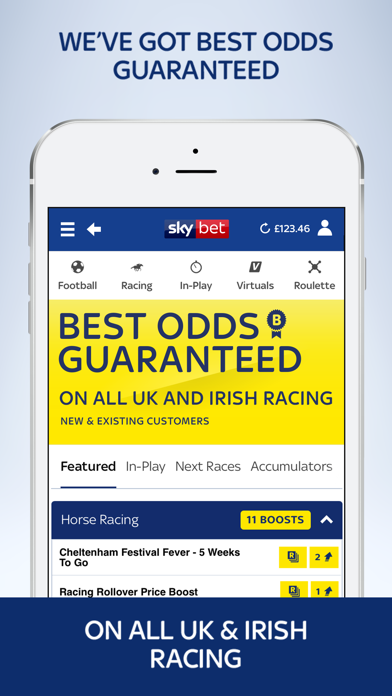 Sky Bet - Sports Betting by Sky Betting & Gaming (iOS, United