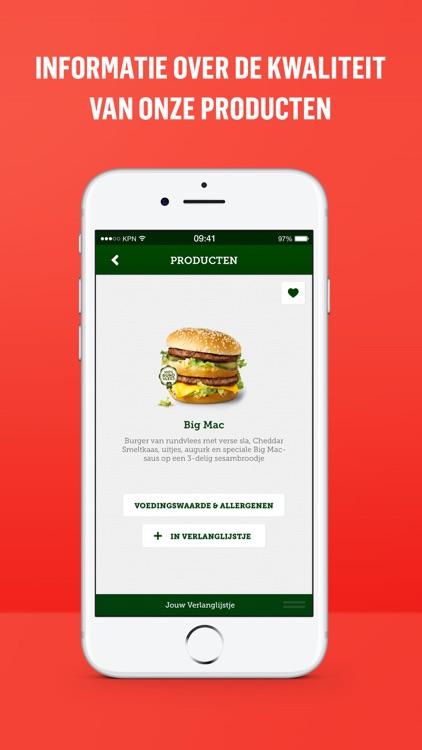 McDonald's Nederland screenshot-4