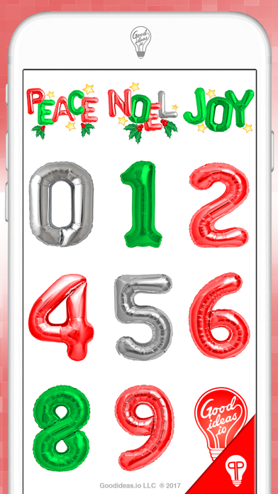 Holiday Balloons ChristmasScreenshot of 3