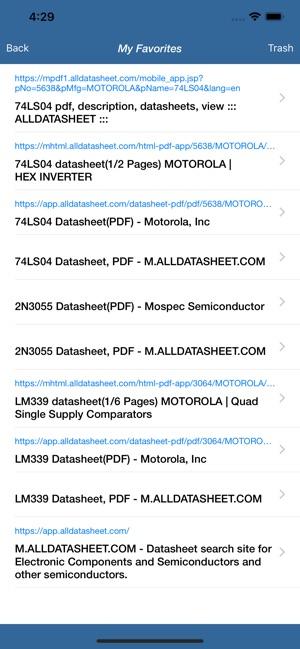 Datasheet (PDF) - ALLDATASHEET on the App Store