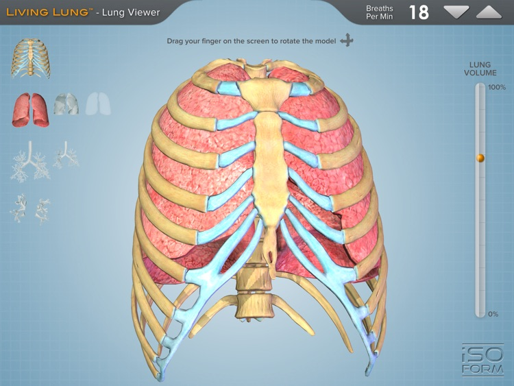 Living Lung™ - Lung Viewer screenshot-0
