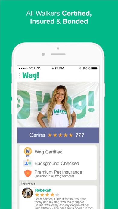 Wag! - Instant Dog Walkers Скриншоты5