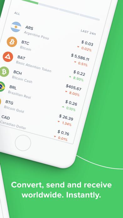 Uphold: Buy Digital Currencies screenshot two