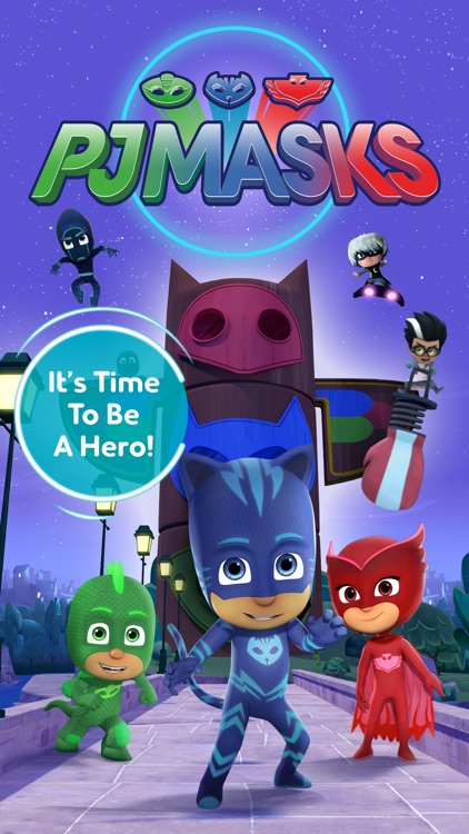 PJ Masks: Time To Be A Hero screenshot-0