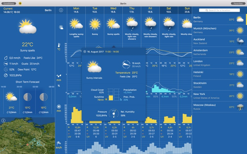 WeatherPro på PC