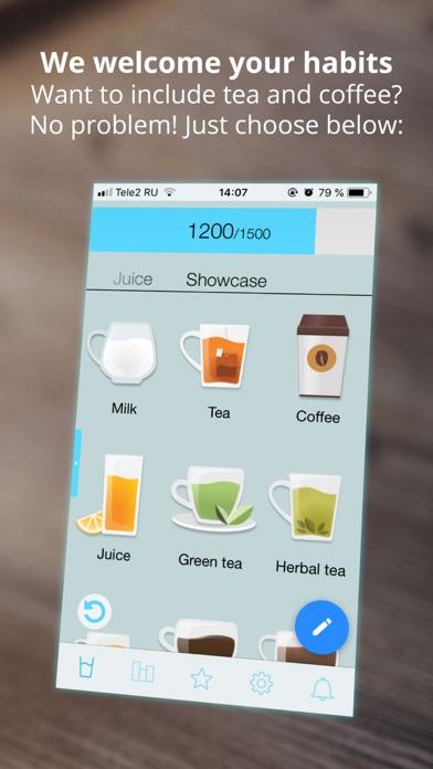 Screenshot for Připomenutí a sledovač vody in Czech Republic App Store