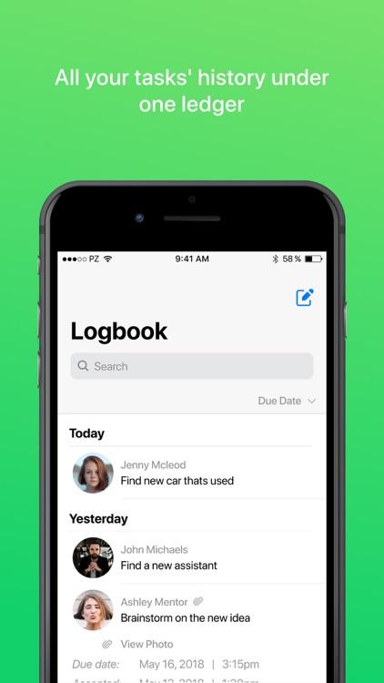 Pleez: To-do & Task Messenger screenshot-3