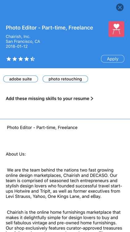 Glever Resume Builder screenshot-3