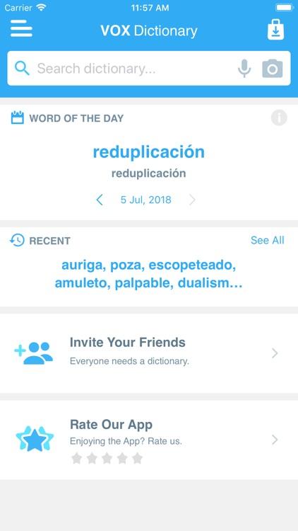 VOX English<>Spanish screenshot-4