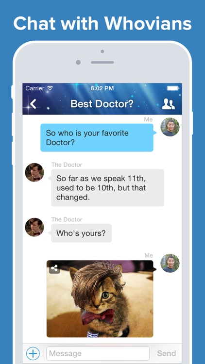 Whovian Amino for Doctor Who