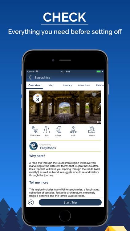 EasyRoads - Road Trip Planner screenshot-3