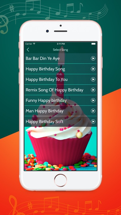 Record Birthday Song With Your Name - App - iOS me