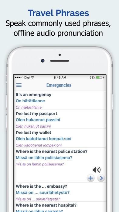 Screenshot for Suomalainen sanakirja in Finland App Store