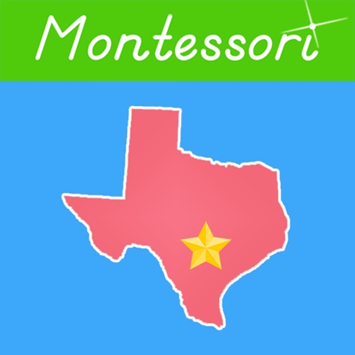 U.S. State Capitals -Montessori Geography for Kids icon