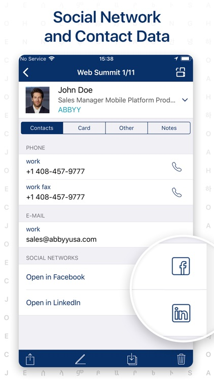 Business Card Scanner by ABBYY screenshot-3