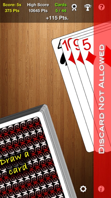 One Handed Solitaire screenshot-4