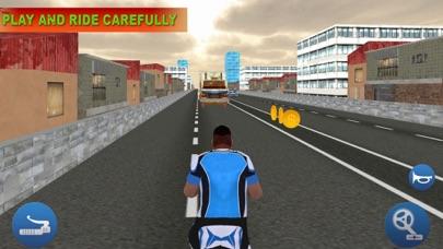 Bicycle In Traffic screenshot two