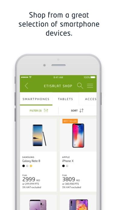 Screenshot for My Etisalat UAE in United Arab Emirates App Store