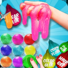 Activities of Clay Ball & Balloon Slime Game