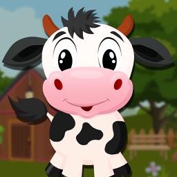Cute Calf Escape Games - start a brain challenge