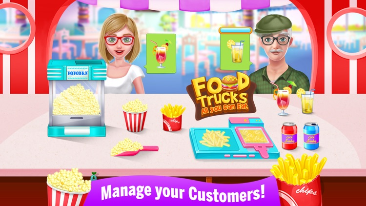 Food Trucks - All you can Eat screenshot-3