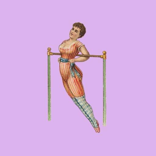 Vintage Acrobat Babes Workout