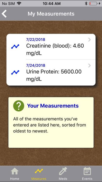 Kidney Health Tracker