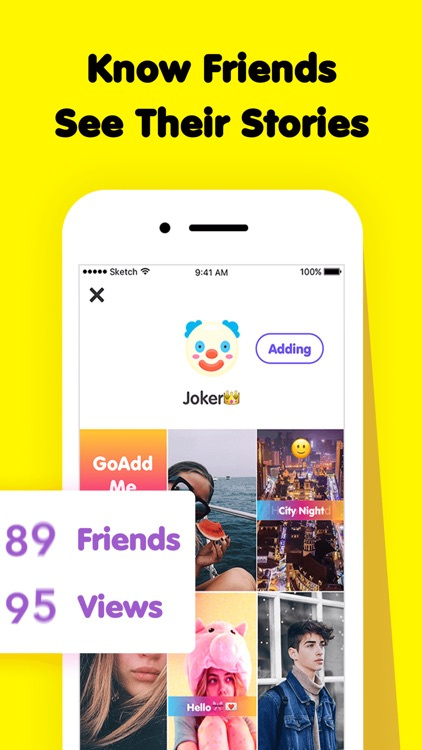 GoAddMe - Make More Friends