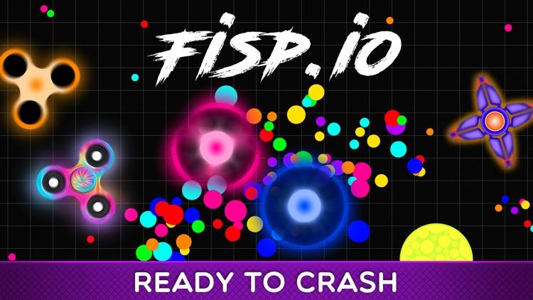 Fisp.io Spin of Fidget Spinner screenshot-0