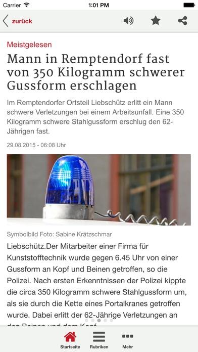 Ostthüringer Zeitung News-App