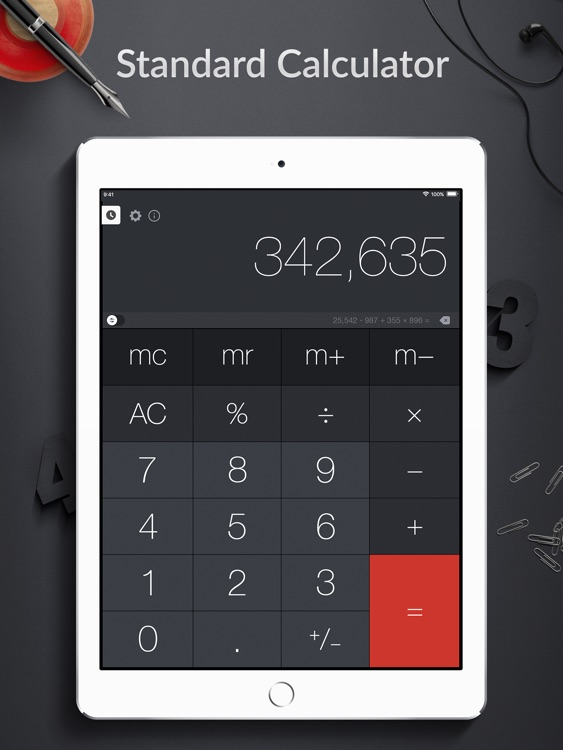 Calculator Pro+ for iPad
