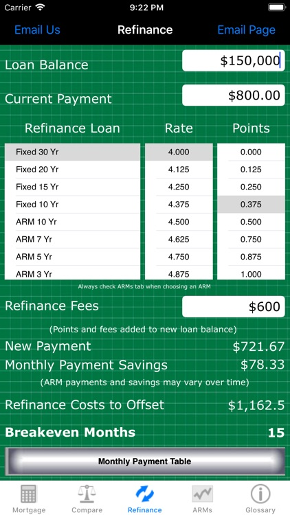 Mortgage Calc Pro screenshot-6