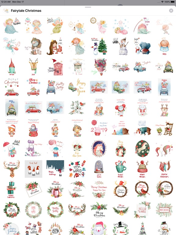 Fairytale Christmas Stickers screenshot 8