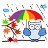 Colorful Owls BirdMoji Sticker