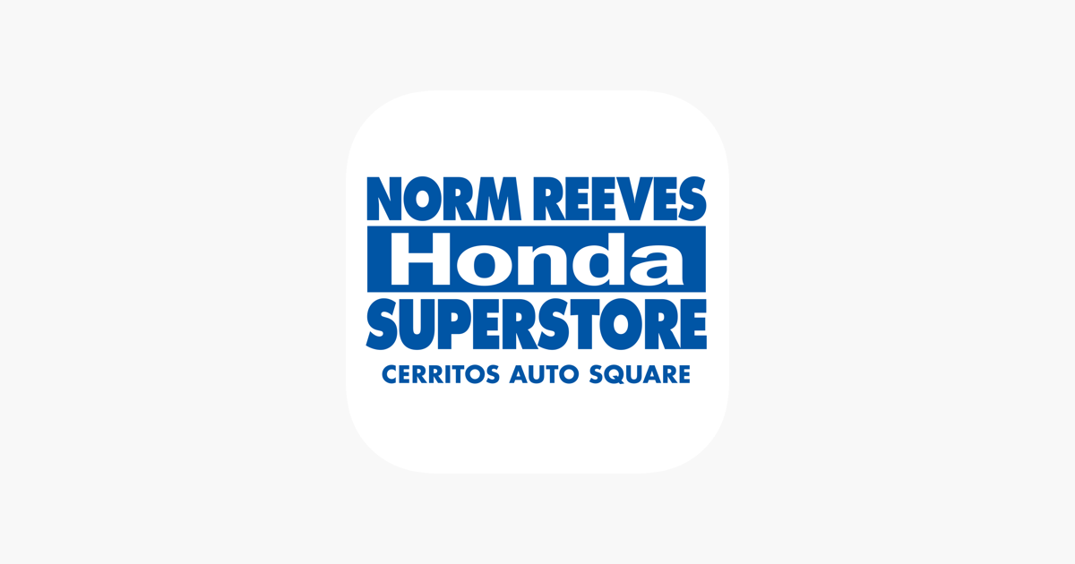 Norm Reeves Honda Cerritos On The App Store