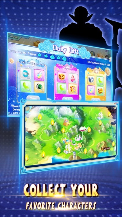 Saiyan Frontier - 3D MMODBZ Blazing Battle screenshot-3