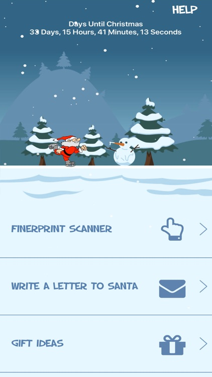 Santa Naughty or Nice Scan screenshot-0
