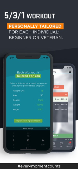 5/3/1 Workout - Zen Labs Screenshot