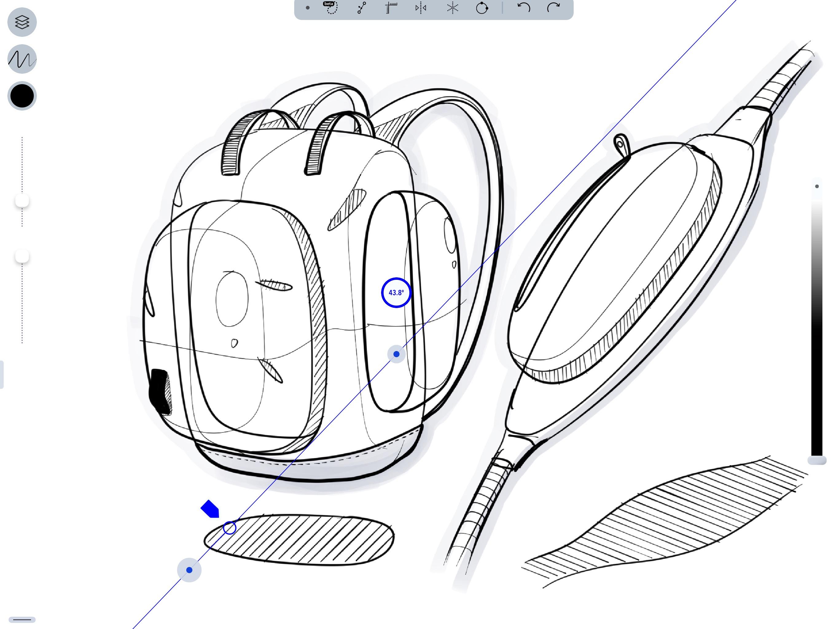 Screenshot do app Sketcha