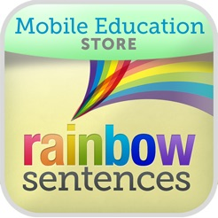 rainbow sentences on the app store