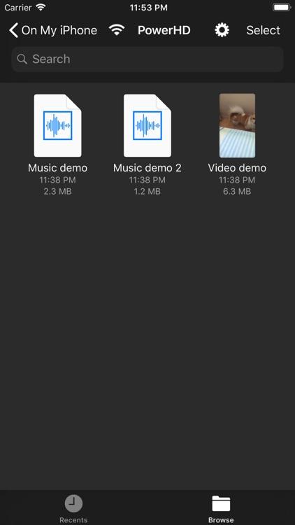 PowerHD Mini  Media Player screenshot-7