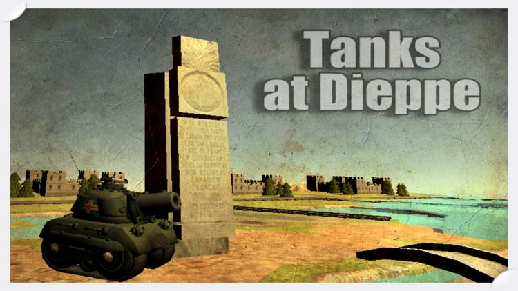 Tanks at Dieppe