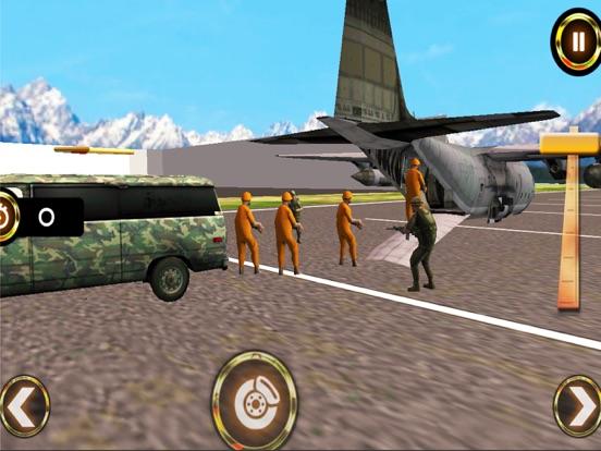 Army Criminal Transport Van 3D Скриншоты6