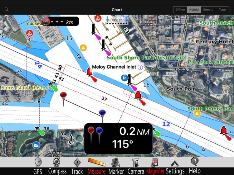 Lake St. Clair GPS Charts Pro screenshot-0