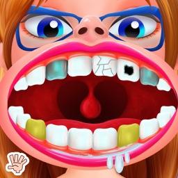 Nerdy Girl Dentist Braces Game