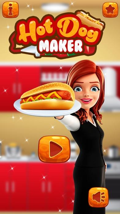 Hot Dog Maker 2017 – Fast Food Cooking Games Delux screenshot one