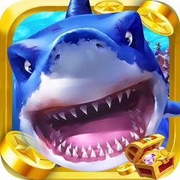捕鱼大逃杀3D捕鱼游戏 - 欢乐捕鱼机电玩游戏