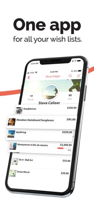 Giftbuster  Wishlist on the App Store 6790e1ff4cb51