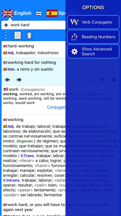Dictionary Plus (Spanish) screenshot-5