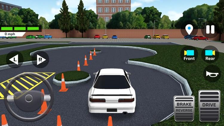 High School Car Driving Test screenshot-0